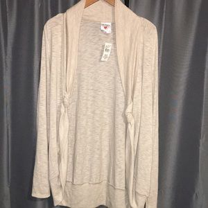 Two Hearts Maternity light pull on sweater XL